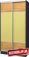 Шкаф-купе стандарт 16 ( Бамбук + Оракал) гл 600мм