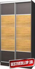 Шкаф-купе стандарт 18 ( ДСП + Бамбук) гл 600мм
