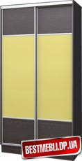 Шкаф-купе стандарт 20( ДСП + Оракал + ДСП) гл 600мм