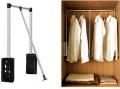 Пантограф - только в шкафах длиной от 1400 до 2400 и глубиной 600